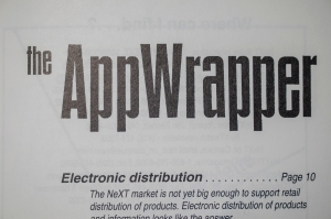 Inside Cover, Electronic AppWrapper
