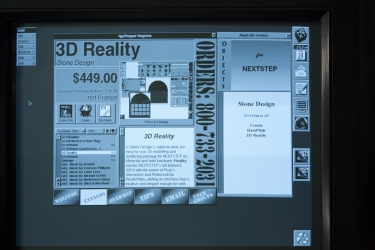 Stone Design's 3D-Reality running on the first AppStore