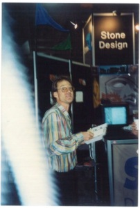 A Younger Andrew Stone at NeXTWorld Expo, 1993