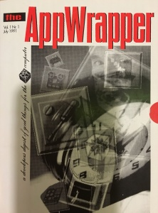 The very first AppWrapper Catalog. The AppWrapper was the first electronic AppStore and was made entirely on NeXT